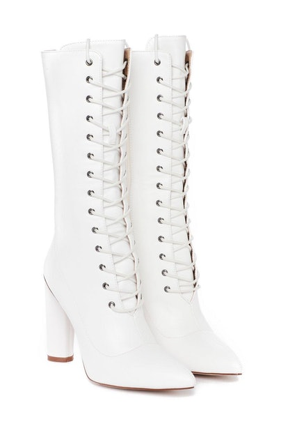Another String to Your Bow Faux Leather Boot