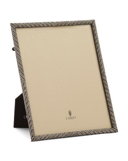 L'Objet 8x10 Deco Twist Pave Noir Frame
