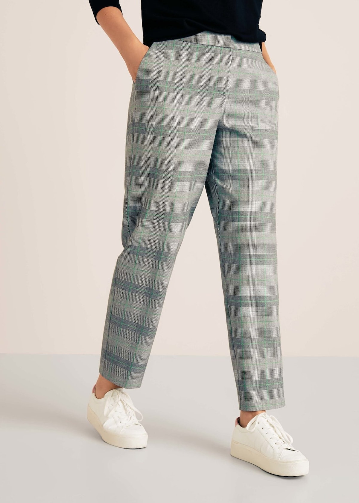 Plus Prince of Wales Trousers