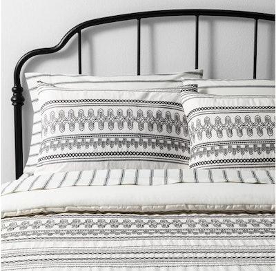 Comforter Set - Embroidered