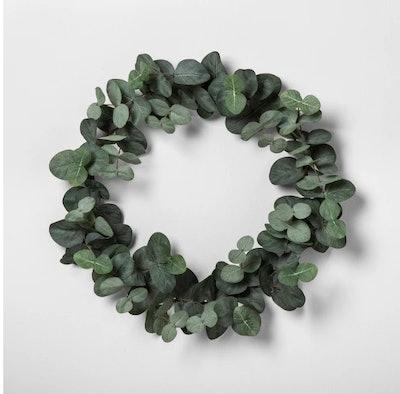 Faux Eucalyptus Wreath
