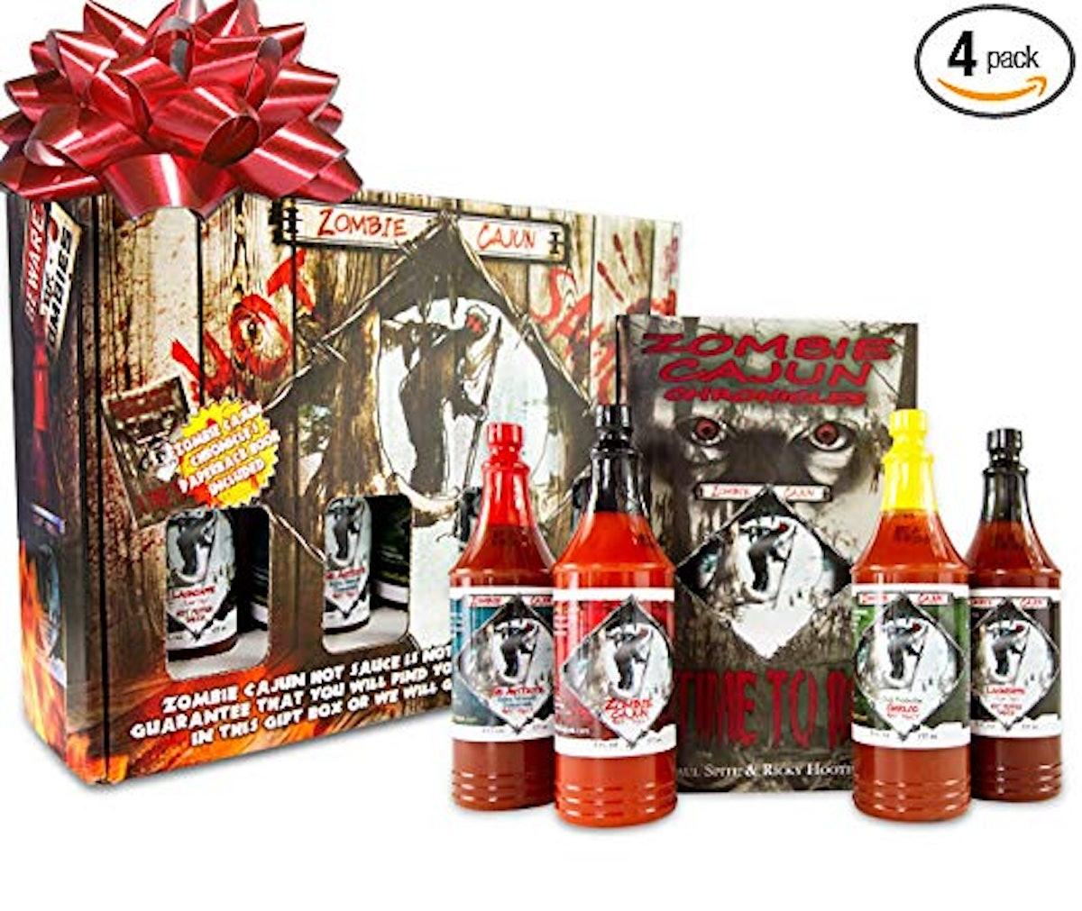 Zombie Cajun Hot Sauce Gift Set
