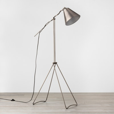 Hearth & Home Pewter Floor Lamp