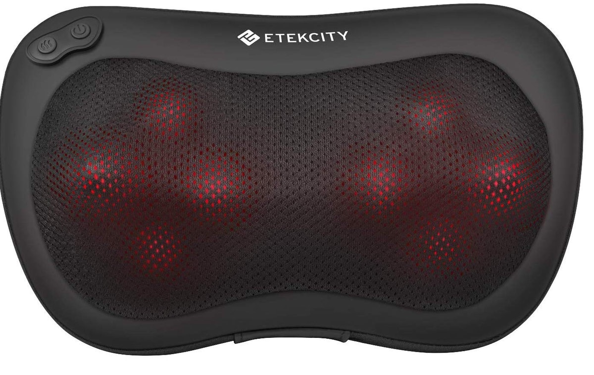 Etekcity 8 Heated Rollers Shiatsu Back Neck Massager