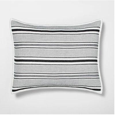 Pillow Sham Textured Stripe