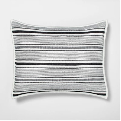 Pillow Sham Textured Stripe