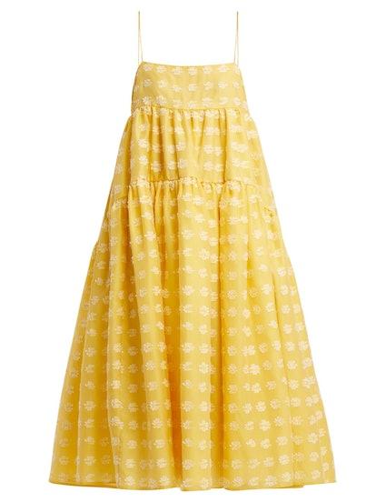 Bey Floral Fil-Coupé Dress