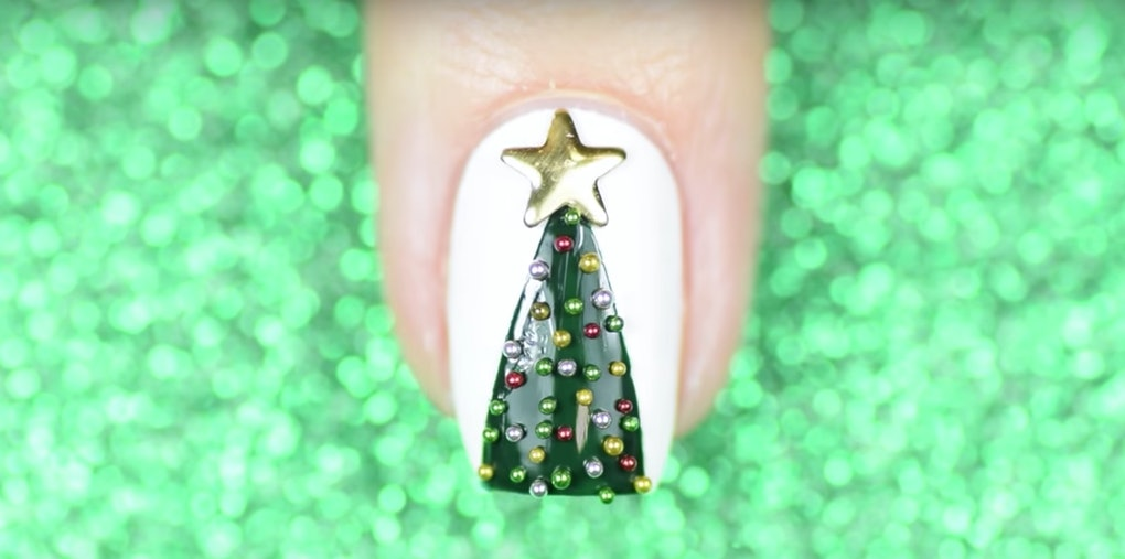 25 Captions For Christmas Nail Art Thats As Dressed Up As Your Tree