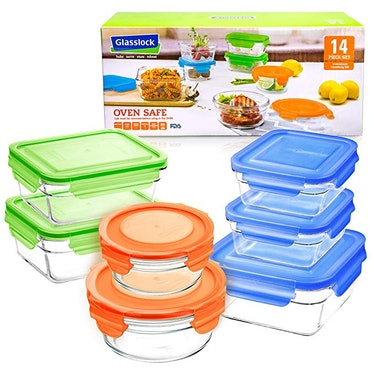 Glasslock Assorted Oven Safe Container Set