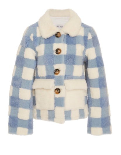 Lucy Cropped Check Jacket