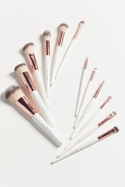 bh Cosmetics Rosé Romance 12-Piece Brush Set