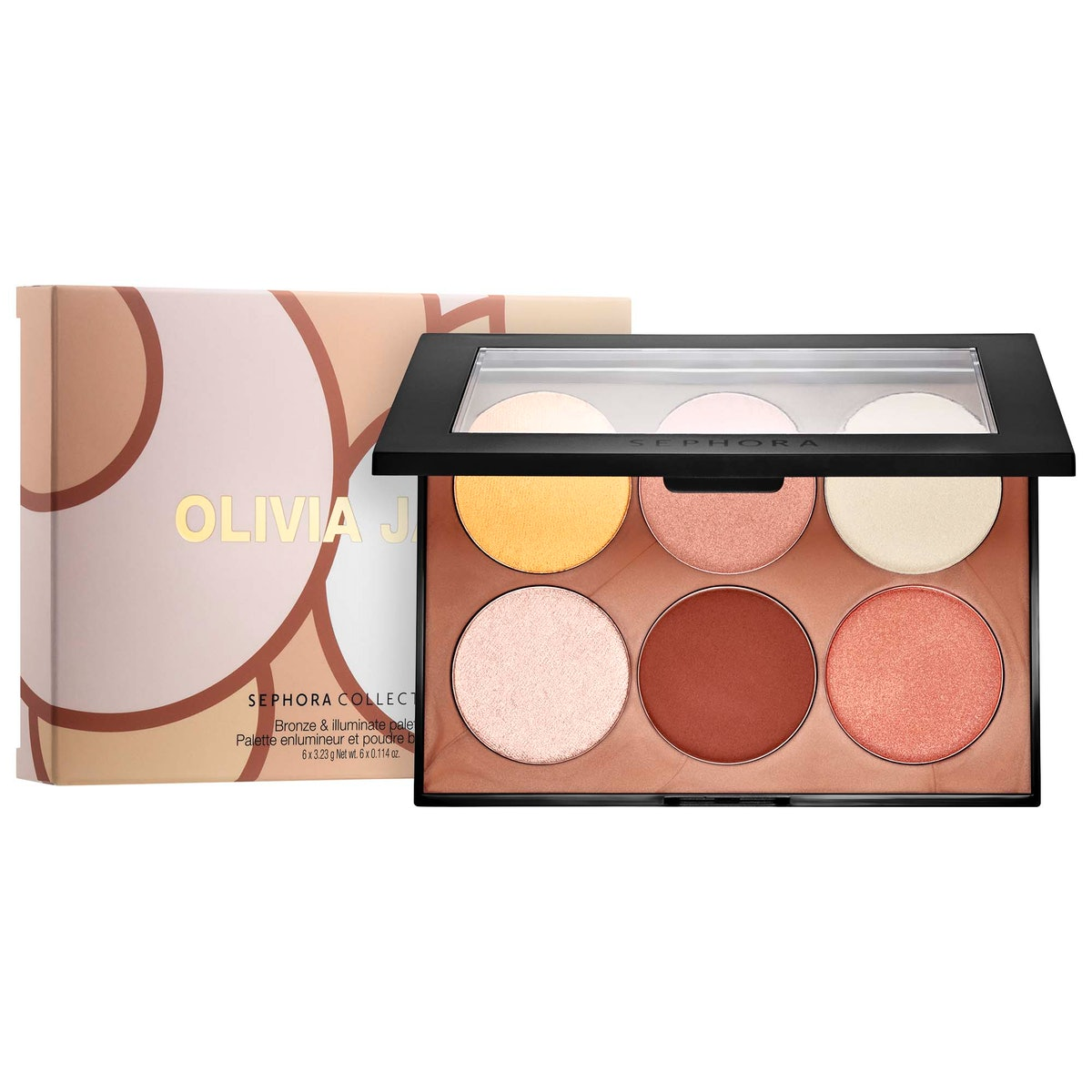 Olivia Jade x Sephora Collection Bronze & Illuminate Palette