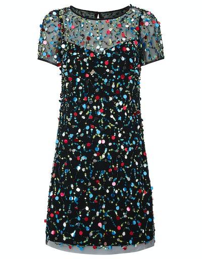Agnes Sequin Tunic Dress