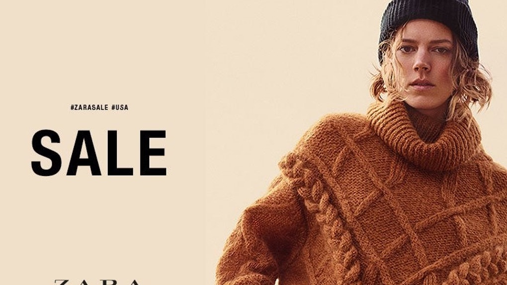 249c2099 The Zara Fall/Winter Sale 2018 Is Finally Here & The Savings Are Legit Wild