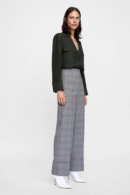 Pants With Turned-Up Cuffs