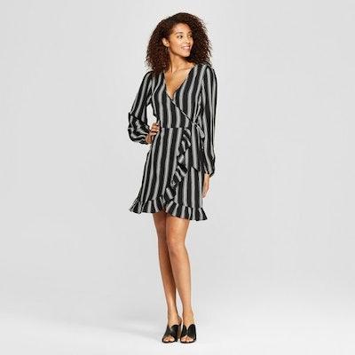Long Sleeve Wrap Dress - Xhilaration™