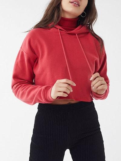 Cropped Hoodie Sweatshirt