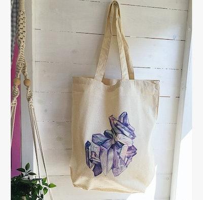 CRYSTAL Print Tote Bag