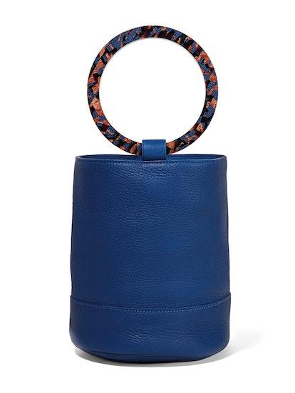 Bonsai 20 Textured-Leather Bucket Bag