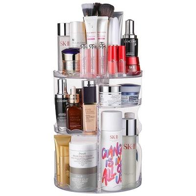 Jerrybox Rotating Makeup Organizer