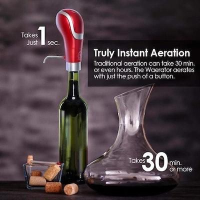 WAERATOR Wine Aerator And Pourer