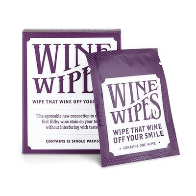 True Wine Stain Removing Wipes (Packet of 12)