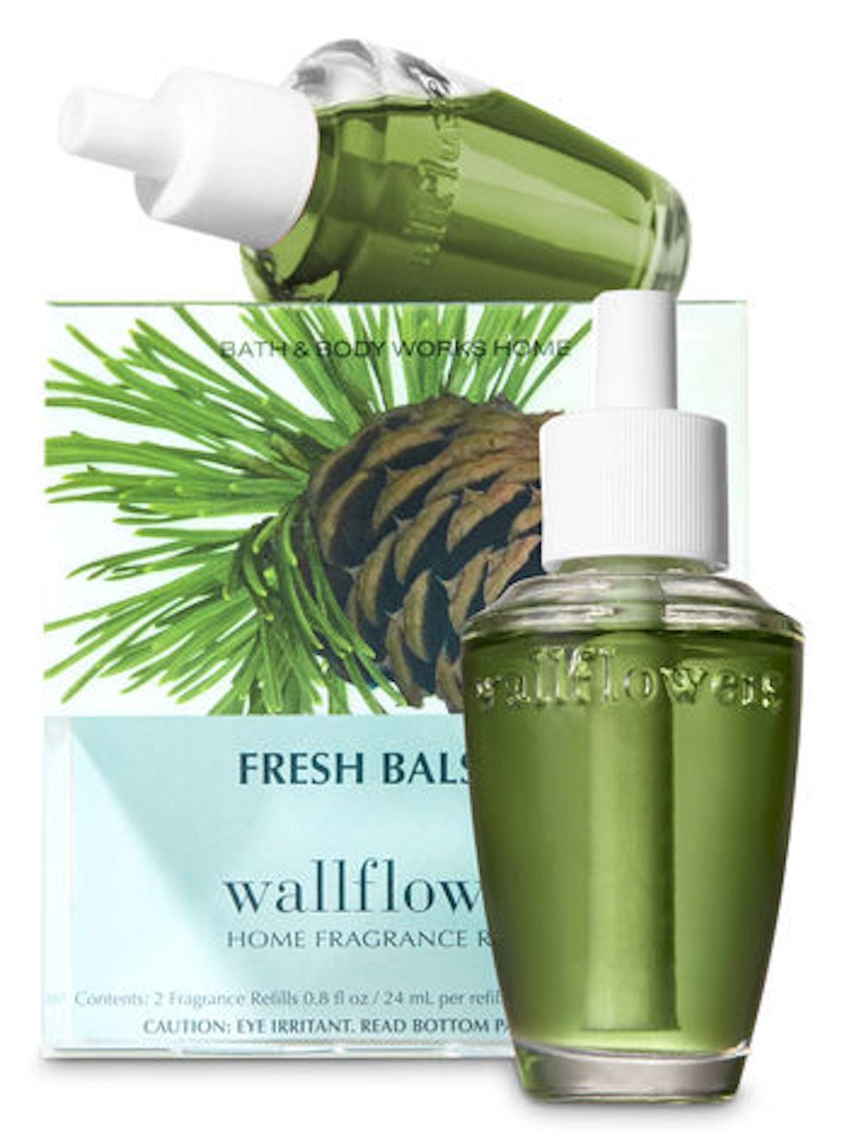 Fresh Balsam Wallflowers Refills Two-Pack