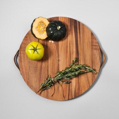 Round Acacia Wood Cutting Board - Hearth & Hand with Magnolia