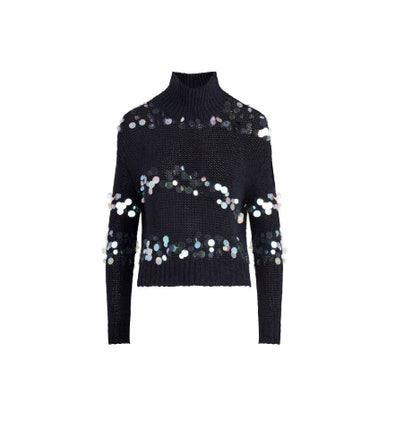 Briana Pailette Embellished Sweater