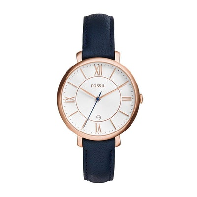 Fossil Women's Three-Hand Leather Watch