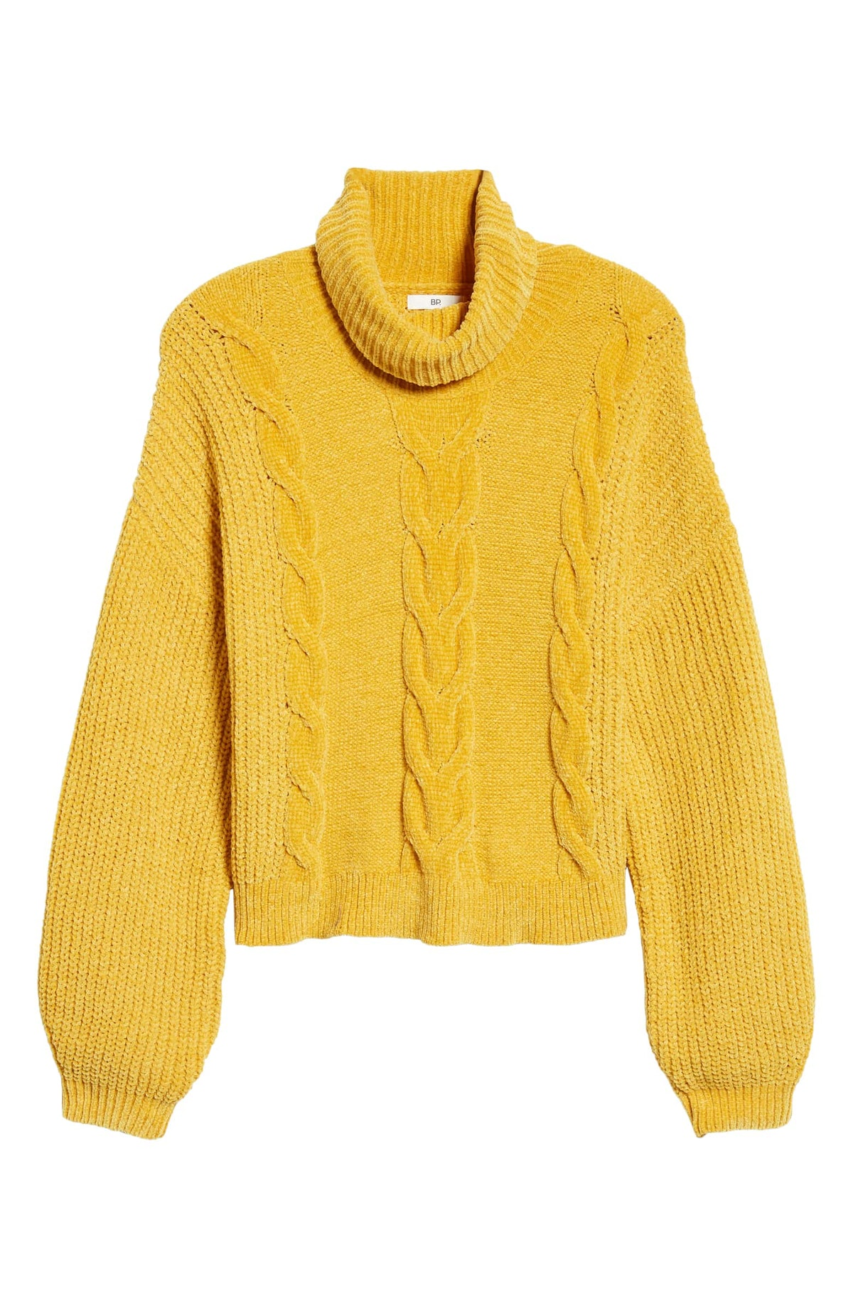 BP. Cable Knit Chenille Sweater