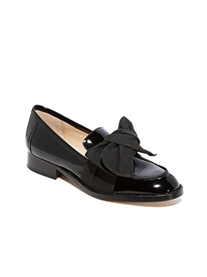 Violet Bow Loafers