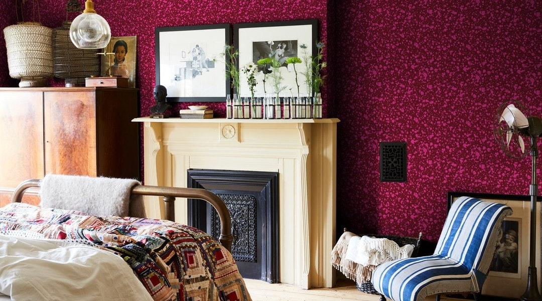 Wallpaper Ideas For Bedrooms Of All Shapes, Sizes, And ...