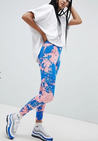 Nike Tie Dye Print Leggings