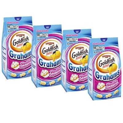 Vanilla Cupcake Goldfish Graham