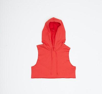 Active Hooded Crop Top