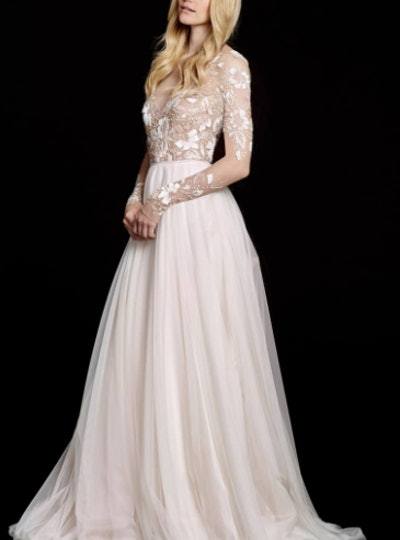 Remmington Embellished English Net Gown