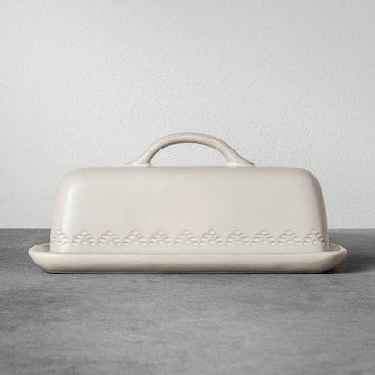 Stoneware Butter Dish - Cream - Hearth & Hand with Magnolia