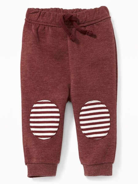 Knee-Patch Joggers for Baby