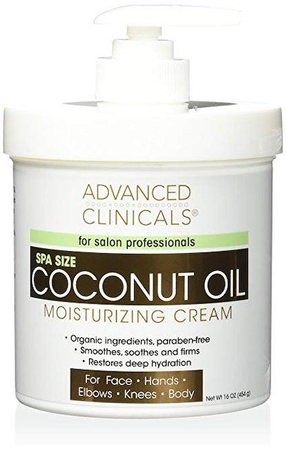 Advanced Clinicals Coconut Oil Cream