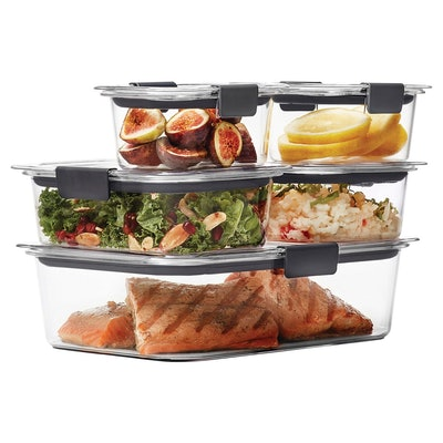 Rubbermaid 10pc Brilliance Food Storage Containers