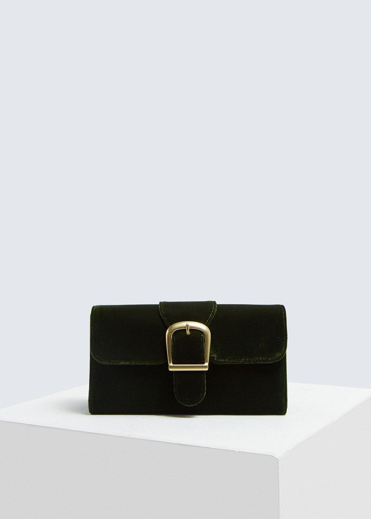 Rylan Velvet Small Bag