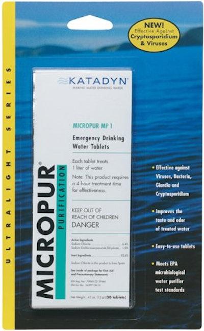 Katadyn Water Purification Tablets (2 Tablets)