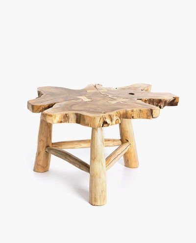 Irregular Teak Wooden Table