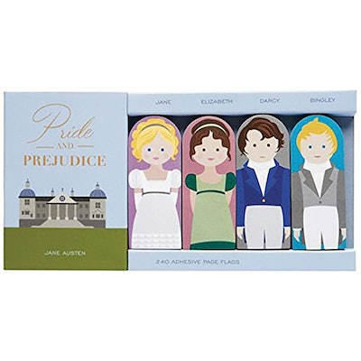 Pride and Prejudice Sticky Flags