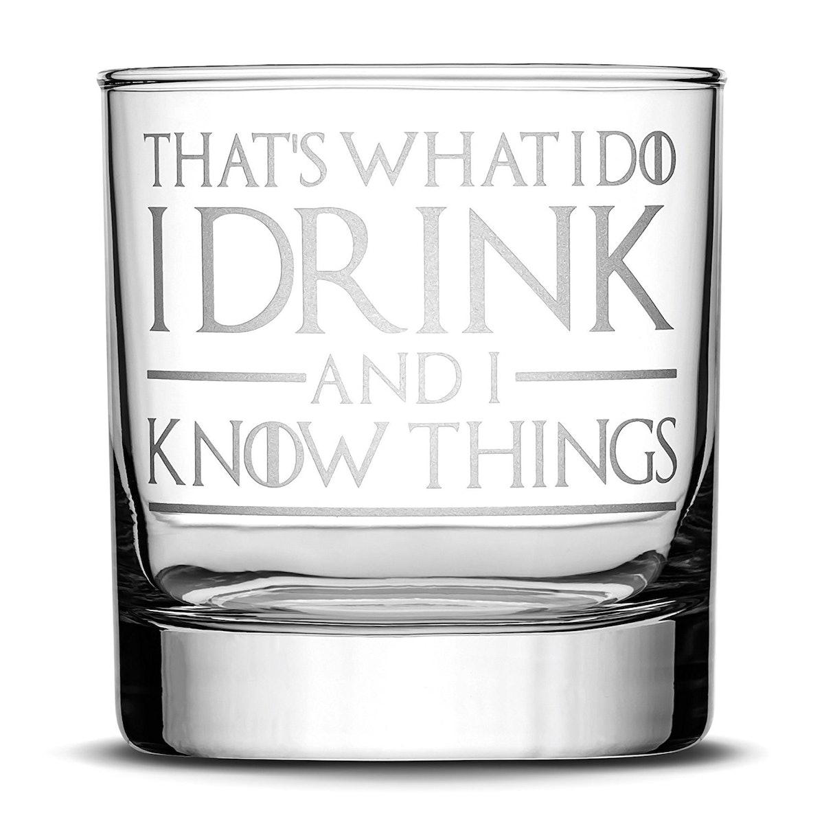 Integrity Bottles Game Of Thrones Whiskey Glass