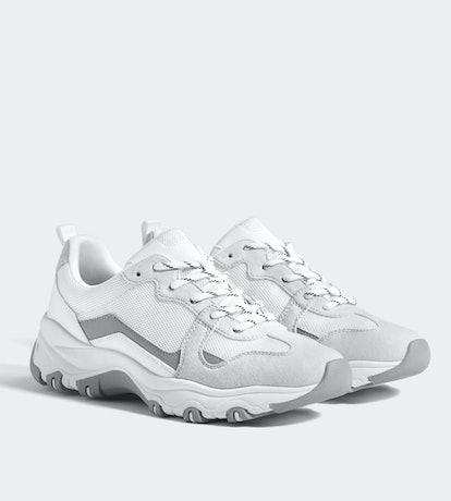 Multi-Piece Platform Sneakers