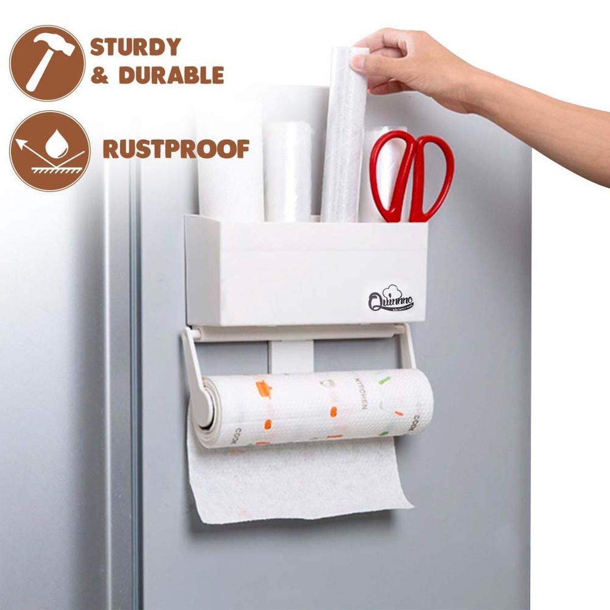 Quinnno Magnetic Refrigerator Storage