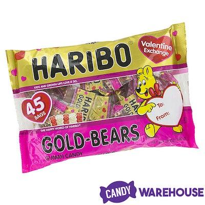 Valentine Haribo Gold-Bears Gummi Bears Candy Fun Packs