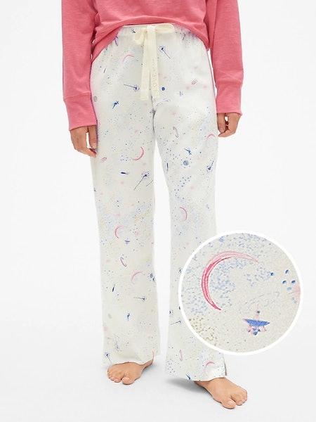 Dreamer Print Flannel Pants